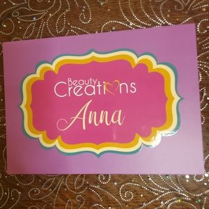 New Anna Eyeshadow Palette from Beauty Creations